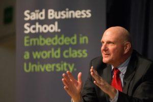 In Conversation with Steve Ballmer at Saïd Business School